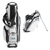 Callaway Hyper Lite 4 White Stand Bag-Greek Letters - 2 Color
