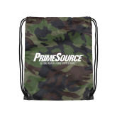 Camo Drawstring Backpack-PrimeSource