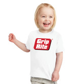 Toddler White T Shirt-Grip-Rite