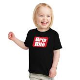 Toddler Black T Shirt-Grip-Rite