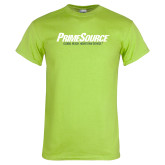 Lime Green T Shirt-PrimeSource