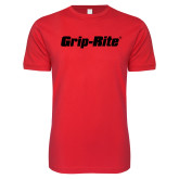 Next Level SoftStyle Red T Shirt-Grip-Rite
