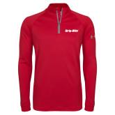 Under Armour Red Tech 1/4 Zip Performance Shirt-Grip-Rite