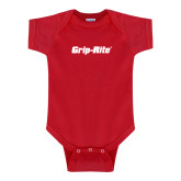 Red Infant Onesie-Grip-Rite