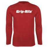 Performance Red Longsleeve Shirt-Grip-Rite