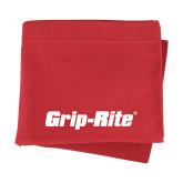 Red Sweatshirt Blanket-Grip-Rite