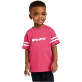 Toddler Vintage Hot Pink Jersey Tee-Grip-Rite