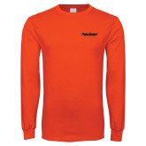 Orange Long Sleeve T Shirt-PrimeSource