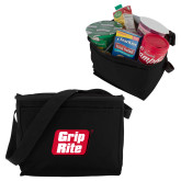 Six Pack Black Cooler-Grip-Rite