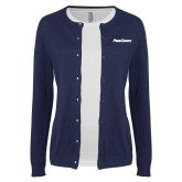 Ladies Navy Cardigan-PrimeSource