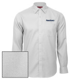Red House White Diamond Dobby Long Sleeve Shirt-PrimeSource