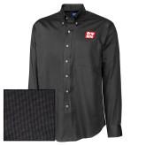Cutter & Buck Black Nailshead Long Sleeve Shirt-Grip-Rite