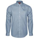 Red House Light Blue Plaid Long Sleeve Shirt-PrimeSource