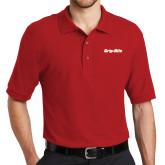 Red Easycare Pique Polo-Grip-Rite