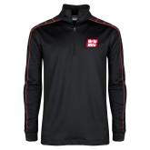 Nike Golf Dri Fit 1/2 Zip Black/Red Pullover-Grip-Rite