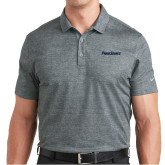 Nike Dri Fit Charcoal Crosshatch Polo-PrimeSource
