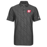 Nike Dri Fit Charcoal Embossed Polo-Grip-Rite