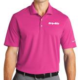 Nike Golf Dri Fit Fusion Pink Micro Pique Polo-Grip-Rite