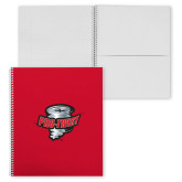 College Spiral Notebook w/Clear Coil-Pro-Twist
