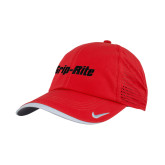 Nike Dri Fit Red Perforated Hat-Grip-Rite