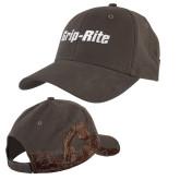 DRI DUCK Dark Brown Construction Industry Cap-Grip-Rite