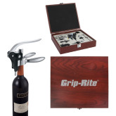 Executive Wine Collectors Set-Grip-Rite  Engraved