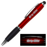 LIGHT UP LOGO Red Stylus Pen-Grip-Rite  Engraved