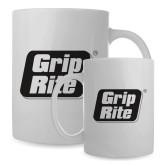 Full Color White Mug 15oz-Grip-Rite