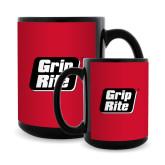 Full Color Black Mug 15oz-Grip-Rite