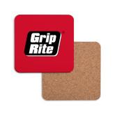 Hardboard Coaster w/Cork Backing-Grip-Rite