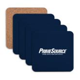 Hardboard Coaster w/Cork Backing 4/set-PrimeSource