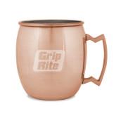 Copper Mug 16oz-Grip-Rite  Engraved