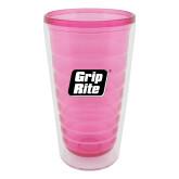 16oz Pink Tritan Double Wall Tumbler-Grip-Rite