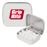 White Rectangular Peppermint Tin-Grip-Rite