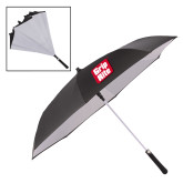 48 Inch Auto Open Black/White Inversion Umbrella-Grip-Rite