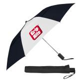 42 Inch Slim Stick Black/White Vented Umbrella-Grip-Rite