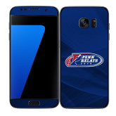 Samsung Galaxy S7 Edge Skin-Penn Relays 2018 Logo