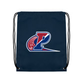 Navy Drawstring Backpack-Penn Relays