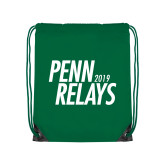 Kelly Green Drawstring Backpack-Penn Relays Jamaica 2018