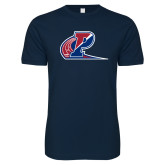 Next Level SoftStyle Navy T Shirt-Penn Relays