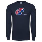 Navy Long Sleeve T Shirt-Penn Relays