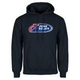 Navy Fleece Hoodie-Penn Relays 2018 Logo