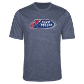 Performance Navy Heather Contender Tee-Penn Relays 2018 Logo