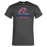 Charcoal T Shirt-Penn Relays Philadelphia Scripted