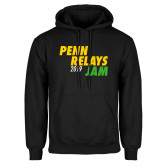 Black Fleece Hoodie-Penn Relays Jam 2018