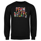 Black Fleece Crew-World Flags Penn Relays