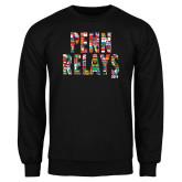 Black Fleece Crew-World Flags Penn Relays