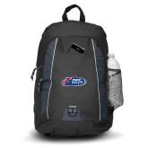 Impulse Black Backpack-Penn Relays Logo