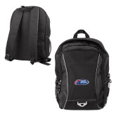 Atlas Black Computer Backpack-Penn Relays 2018 Logo