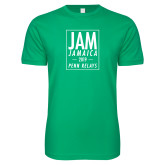 Next Level SoftStyle Kelly Green T Shirt-Jam Penn Relays In Box